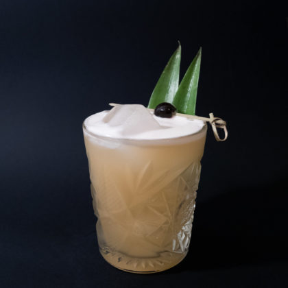 Pineapple Whiskey Sour Drink Recept