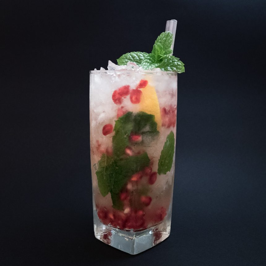 Pomegranate Punch Cocktail Recipe